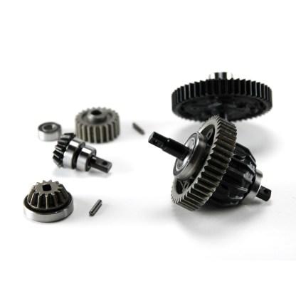 Traxxas 1/10 Maxx 4WD 4S Center Differential Cush Drive Pinion Gears & Bearings