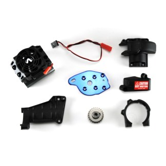 Traxxas 1/10 Maxx Motor Mount, Heat Sink & Fan, Pinion Gear, Gear Cover