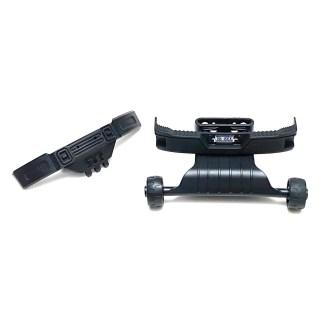 Arrma Big Rock 3S BLX 4X4 V3 F&R Bumper Set Wheelie Bar