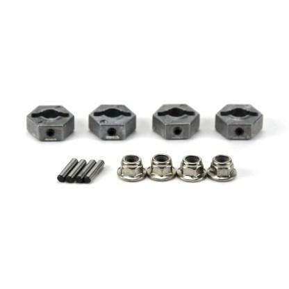Arrma Big Rock 3S BLX 4X4 V3 Metal 14mm Wheel Hex w/ Wheel Nuts