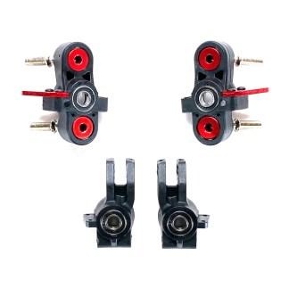 Arrma Typhon 6S BLX V5 Hubs Steering Caster Blocks Axle Carriers w/ Bearings