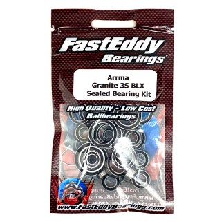 Arrma Granite 3S BLX FastEddy Sealed Bearing Kit (27 pcs) (TFE5850)