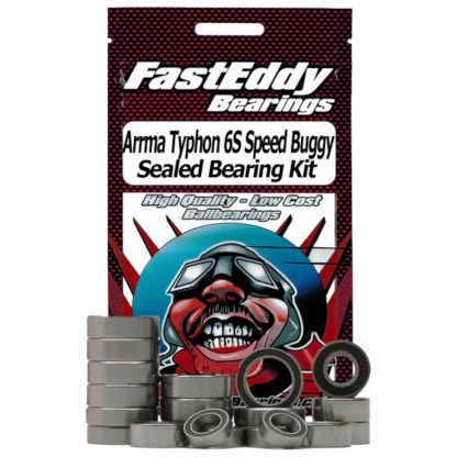 Arrma Typhon 6S FastEddy Sealed Bearing Kit (22 pcs) (TFE1373)