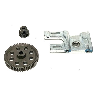 Redcat Racing Volcano EPX PRO Motor Mount 21T Steel Pinion Gear 64T Spur Gear