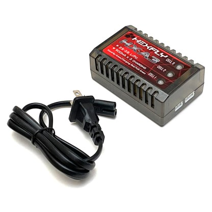 Redcat Racing Hexfly HX-A3 2S 3S LiPo Battery Balance Charger New Retail Package