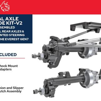Redcat Racing Everest Gen7 Pro/Sport Portal Axle Kit Assembled V2 RER13366