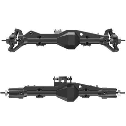 Redcat Wendigo XR247 Pre Assembled Axle Kit F&R HD Trussed Axles RER13033