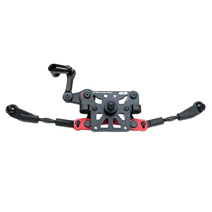 Arrma Typhon 6S BLX Steering Bellcrank Tie Rod Turnbuckles Top Plate Servo Saver