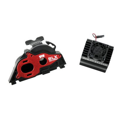 Arrma Vorteks 3S BLX 4X4 V3 Aluminum Slider Motor Mount w/ Heat Sink & Fan