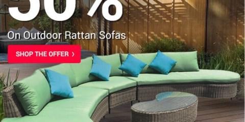 Outdoor Rattan Sofas