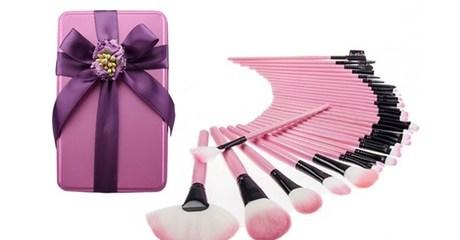 32-Piece Make-Up Brush Set