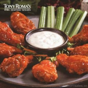 Tony Roma's Buffalo Wings Special