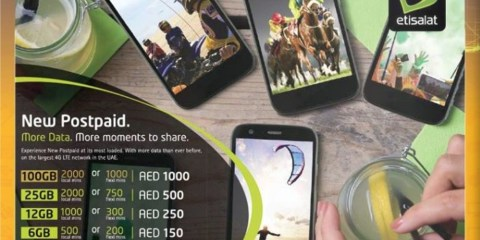 Etisalat New Postpaid Offers