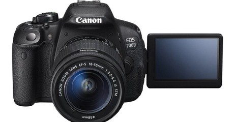 Canon EOS 700D with 18-55mm Lens