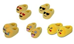 Kids' Emoji Slippers