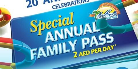 Dreamland Aqua Park Annual Pass Exclusive Offer