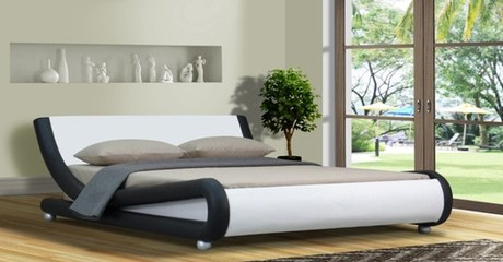 Galaxy Leather Bed and Mattress