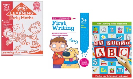 Workbook Bundles for 3-8 Years Old