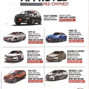 Honda Approved Pre-Owned Cars