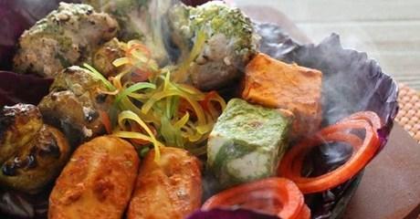 Set Menu Indian Meal with Sides
