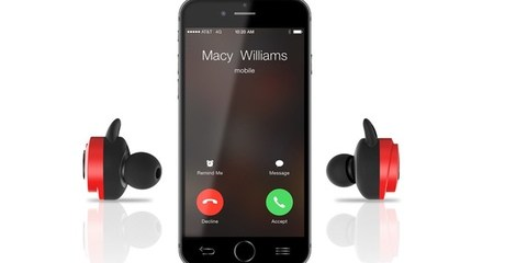 Tiny Demon Wireless Earbuds and Charging Case