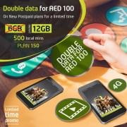 Double Data Promotion