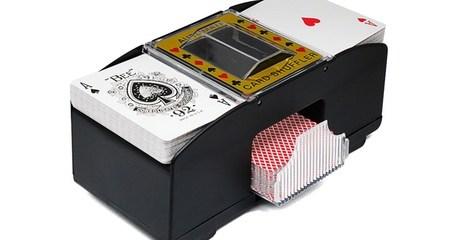 Automatic Two-Deck Card Shuffler