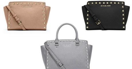 Michael Kors Medium Studded Selma Bag