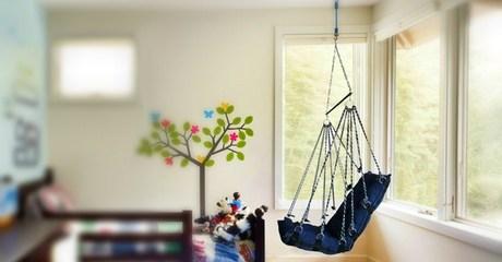 Hanging Rope Hammock Chair