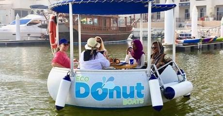 30-Minute Eco-Donut Boats