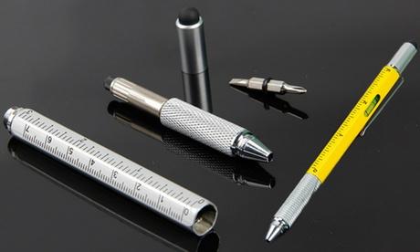 Six-in-One Multi-Purpose Pen