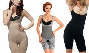 Bamboo Slimming-Effect Bodysuit