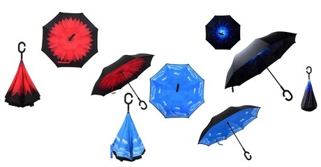 Reversible Folding Umbrella