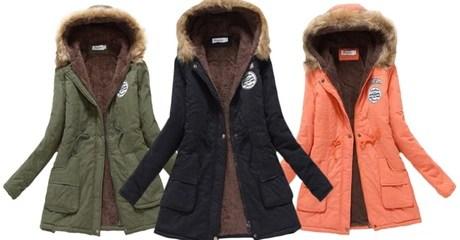 Women's Winter Parka Coat