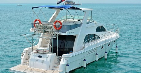 Yacht Rental for Up to 21 People