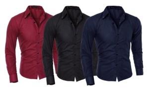 Men's Slim-Fit Shirts
