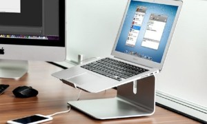 Laptop and Keyboard Stand