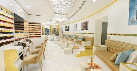 Customers can be pampered with a 60- or 90- Swedish or relaxing spa treatment at this salon located next to the Abu Dhabi Exhibition Centre for AED99.00 at Discount Sales.