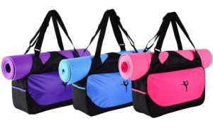 Water-Resistant Yoga Bag
