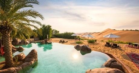 Al Ain: 5* Romantic Package with Breakfast
