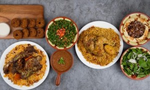 AED 50 Toward Food and Drinks