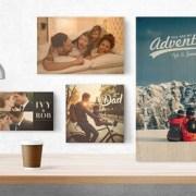Personalised Wood Photo Print