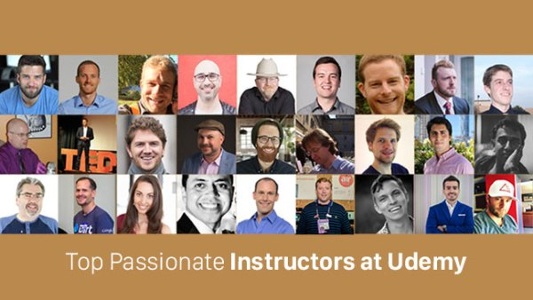 Top Passionate Instructors at Udemy