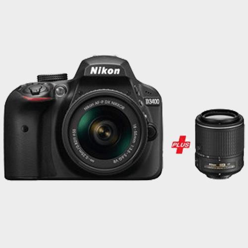 Nikon Dslr Camera D3400 18 55vr 55 200 Vr In Qatar Discountsqatar Com