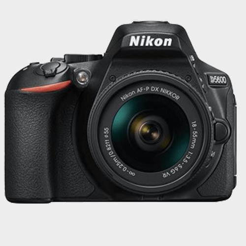 Nikon DSLR Camera D5600 AF-P 18-55mm Lens in Qatar