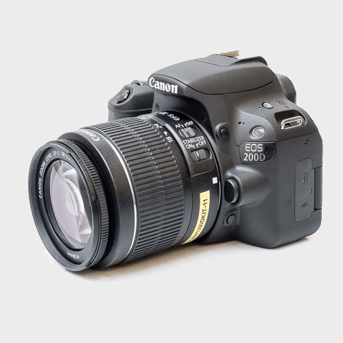 Canon DSLR Camera EOS 200D + 18-55DC IIImm Lens Price in Qatar