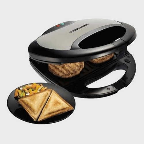 Black & Decker Sandwich Grill Maker TS2080 Price in Qatar souq