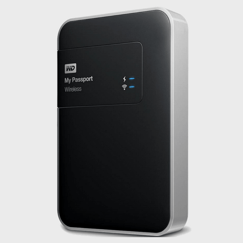 Western Digital Wireless HDD My Passport BK8Z0010 1TB Price in Qatar