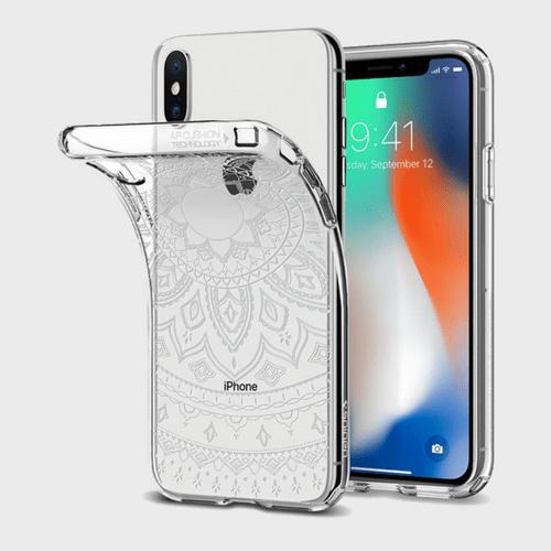 Spigen iPhone X Case Liquid Crystal Shine price in Qatar souq