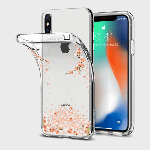Spigen iPhone X Case Liquid Crystal Blossom price in Qatar lulu